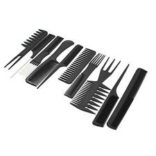 10in1 Professional Hairdressing Salon Barber Hairdresser HairMake Styling Combs