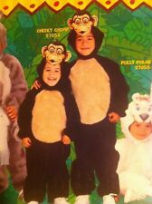Cheeky Chimp Disfraz Chimpancé Mono Edad 1-2 Niños Niños Fancy Dress