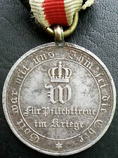 ✚6463✚ German medal for non combatants Franco-Prussian War Iron Cross 1870 1871