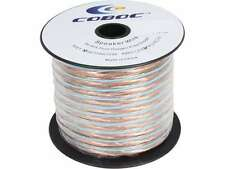 Coboc SPW-2C14-50-CL 50ft 14AWG 2-Conductor Oxygen-Free Copper OFC Speaker Wire