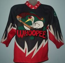 "OT SPORTS ""MACON WHOOPEE"" Youth size S Minor League Ice Hockey Jersey Worn Once"