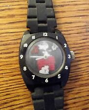 VINTAGE 1965 TIMEX SNOOPY AND THE RED BARON Wind Up Mechanical WATCH