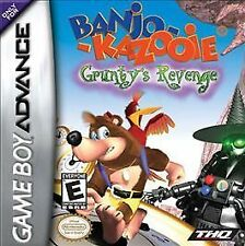 Banjo-Kazooie: Grunty's Revenge - Game Boy Advance GBA Game