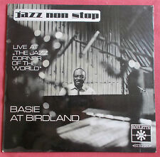 COUNT BASIE LP ORIG GER BASIE AT BIRDLAND  LIVE AT THE JAZZ  CORNER OF THE WORLD