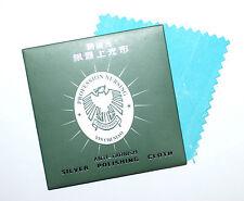 Silberpflegetuch Silber-Poliertuch mit Reiniger und Anlaufschutz ca. 8x8cm