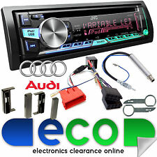 AUDI TT 1998-2006 MK1 JVC CD MP3 USB BLUETOOTH COMPLETO BOSE Stereo Auto Upgrade Kit