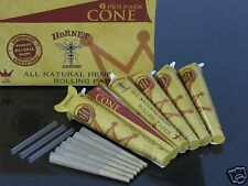6 Pack 36 CONE 1 1/4 Size UNREFINED HEMP Rolling Paper Pre Rolled Cones #761