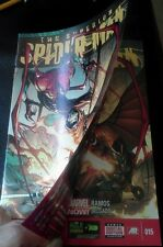 SUPERIOR SPIDERMAN 15 RARE DOUBLE COVER ERROR VARIANT NM AMAZING GOBLIN