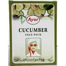 100 gm. Ayur Cucumber Pure Herbal Face Pack Powder for Pimple Oil Free Glowing