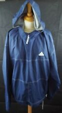 Retro 90's Urban Adidas overhead hooded lightweight jacket size Large 42/44 Navy