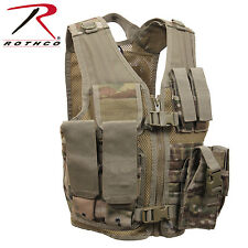 5384 Rothco Kid's Tactical Cross Draw Vest - MultiCam