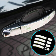 FIT FOR 12- FORD FOCUS ESCAPE CHROME DOOR HANDLE COVER TRIM MOLDING CATCH BEZEL