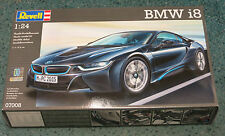 Revell Germany 1/24 BMW i8 Plastic Model Kit NEW TOOLING 07008