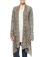 Johnny Was Crochet Lace Cotton Jacket S-M Bohemian Fancy Formal Cover up S-M NWT