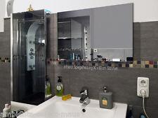 Infrarot Spiegelheizung ESG Glas Rahmenlos 500 Watt 90x60 - 5 Jahre Garantie TÜV