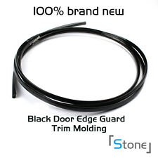 Black Car Door Edge Guard Strip Protector Moulding Trim Van Bus Truck 10ft 120""