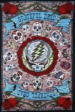 "Tapestry - Grateful Dead"" Mexicali Skull"" 3D 30x45 (Glasses Included) FREE MAIL"