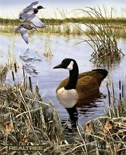 Realtree Hunting Goose and Duck Large Cotton Fabric Panel