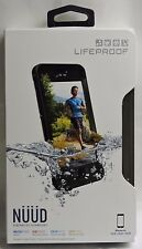 NEW!!! LifeProof Nuud Series Waterproof Case for iPhone 6s ONLY - Black