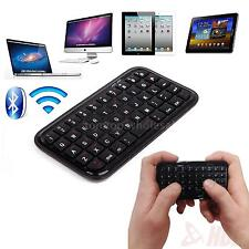Wireless Bluetooth 3.0 Keyboard Mini Pocket Size Tablet PS4 Phone Raspberry Pi