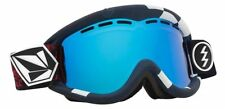 NEW Electric EG1 Volcom Blue Mirror ski snowboard goggles + extra lens Msrp$110