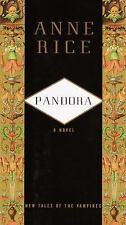 Pandora - Anne Rice (Hardcover) New Tales of the Vampires