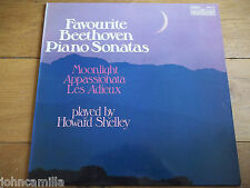 HOWARD SHELLY - FAVOURITE BEETHOVEN PIANO SONATAS - LP - CONTOUR - 2870 436