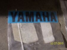 NEW NOS OEM FACTORY Yamaha Emblem Badge Decal 5UG-F153A-30 Rhino Grizzly BigBear