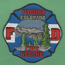 PAGOSA COLORADO FIRE DEPARTMENT PATCH
