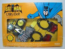 Original 1970s Remco Batman Utility Belt in box with accessories Gotham City Map
