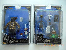 NECA NBX NIGHTMARE BEFORE CHRISTMAS CYCLOPS & WEREWOLF ACTION FIGURE SET!