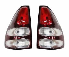 Pair Of Rear Tail Lamps R/H+L/H For Toyota Landcruiser KDJ120 3.0TD (02 On) NEW