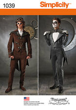 Schnittmuster Steampunk-/ Blacknight- Men ; Gr. 48-54