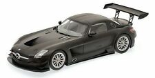 "1:18 Minichamps Mercedes Benz MB SLS AMG GT3 ""STREET"" (2011) - MATT BLACK"