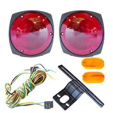 12V Trailer Light Kit w/ Wiring Harness Replacement Brake Marker Towing Tail