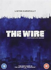 THE WIRE SERIES 1-5 1 2 3 4 5 COMPLETE DVD BOX SET NEW SEASONS