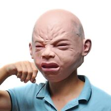 Cry Baby Full Head Face Latex Mask Halloween Cosplay Halloween Funny Creepy NEW