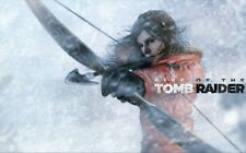 """033 Rise of The Tomb Raider - Upcoming Action Adventure Game 38""""x24"""" Poster"""