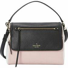 KATE SPADE COBBLE HILL TODDY SMALL LEATHER SHOULDER BAG PINK GRANITE MULTI NWT