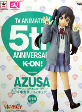 K-ON KEION / TV Animation 5th Anniversary Figure / AZUSA NAKANO / SQ