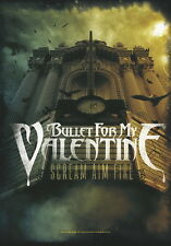 "Bullet for my valentine drapeau/drapeau ""scream AIM FIRE"
