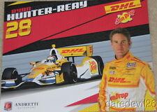2012 Ryan Hunter-Reay DHL/Sundrop Chevy DW12 Dallara Indy Car postcard