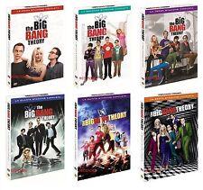 THE BIG BANG THEORY Stagioni 1,2,3,4,5 e 6 Cofanetti Singoli (19 DVD ) Sigillati