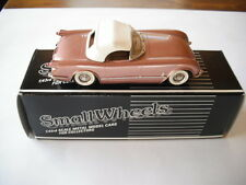 WESTERN MODELS/SMALL WHEELS 1955 CHEVROLET CORVETTE EXCLUSIVE COPPER 1/43 SCALE