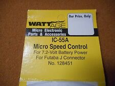 WATTAGE R/C IC-55A Micro Speed Control #128461 for Futaba
