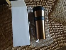 Starbucks Bronze Soft Touch Tumbler 16 fl oz - Nice!