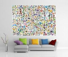POKEMON géant Mur Art Image Imprimé Poster G18