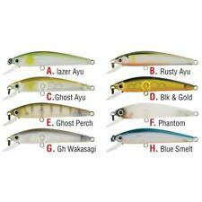 2 DAIWA PRESSO MINNOW 6F FISHING LURES PHANTOM & BLUE SMELT