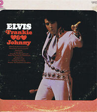 ELVIS PRESLEY Frankie & Johnny Vinyl 33 LP Rock Music Record Album VG+ Stereo