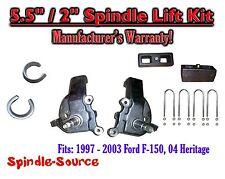 """1997 - 2003 Ford F-150 F150 2WD 5.5"""" / 2""""  Spindles blocks LIFT KIT"""